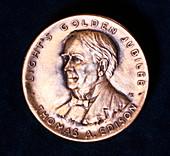 Thomas Alva Edison, American physicist and inventor, 1929