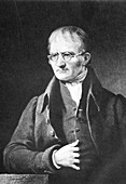 John Dalton, English chemist, c1834