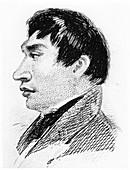 The Fuegian, York Minster, in 1833