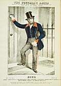 The Postman's Knock' c1855.