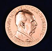 Hermann Ludwig Ferdinand von Helmholtz, German physicist