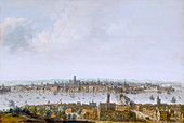London from Southwark', c1630