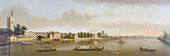 Putney and the Thames from Putney Bridge', c1750