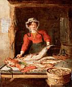 The Fish Stall', c1830