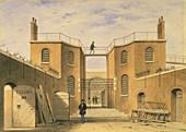 House of correction, Clerkenwell, London, c1850
