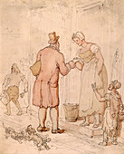 The postman, early 19th century