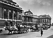 The west front of Somerset House, Lancaster Place, London