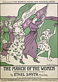 Songsheet of 'The March of the Women', 1911