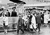 Tubby Isaacs' stall, Middlesex Street, Aldgate, London