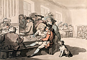 The Chocolate House', 1787.