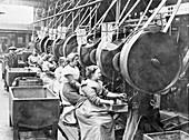 Women making bullets, May 1915