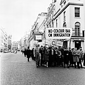 Demonstration march, London, 1962