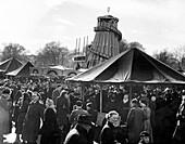 Hampstead funfair, London, early 1950s