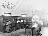 Walthamstow Telephone exchange, London, 1910