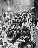 Billingsgate Market at 7am, London, 1937