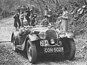 1937 Morgan in the MCC Land's End Trial, 1939