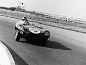Jaguar D Type, Silverstone, 1961