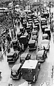May Bank Holiday traffic, Bournemouth, 1939