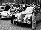 Sunbeam Talbot, Monte Carlo Rally, 18th January 1954