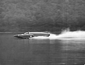 Donald Campbell in Bluebird K7, Coniston Water, 1958