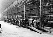 Citroen production line, France, c1922