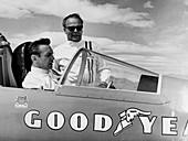 Bobby Tatroe in 'Wingfoot Express II', Utah, USA, c1965