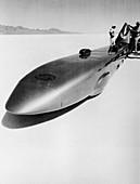Goldenrod' Land Speed Record car, Utah, USA, c1965