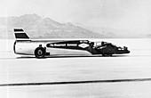 Wingfoot Express' Land Speed Record car, 1964