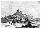 Tomb of Jonah, Nabbi Yunis, Nineveh, Assyria, c1890