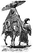 The Sultan of Morocco, c1890