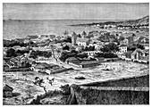 San Paolo de Loanda, Angola, West Africa, c1890