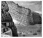 Jacob's Ladder leading to Munden's Battery, Saint Helena