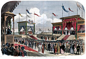 The Opening of the Suez Canal, Port Said, Egypt, 1869