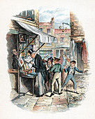 Scene from Oliver Twist by Charles Dickens