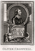 Oliver Cromwell', 1775
