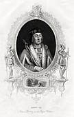 Henry VII, first Tudor King of England, 1860