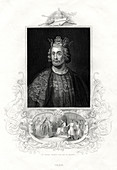 King John of England, 1860
