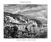 Saint Pierre, Martinique, 19th century