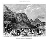 Landscape in the island of Cuba, 19th century