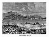 Cap Haitien, Haiti, 19th century