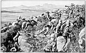 The last rush at Hlangwane Hill, 19 February 1900