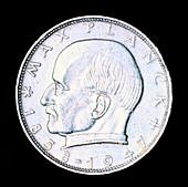 Max Planck, German theoretical physicist, mid 20th century