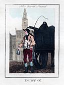 Dust O!', New Church, Strand, London, 1805