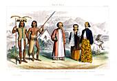 Malay Race', 1800-1900