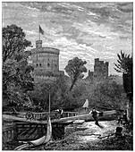 Old Windsor Lock', 1880