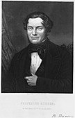 Robert Bunsen, German chemist, 1850s