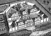 Huntingdon County Gaol and House of Correction, England