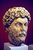 Hadrian, Roman marble bust