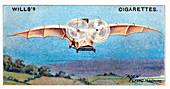 Ader's flying bird 'Eole', 1890