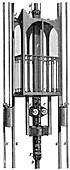 Elevator (lift) by Siemens and Halske, 1890